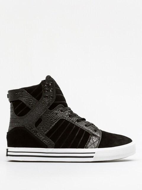 Supra Schuhe Skytop (black/croc white)