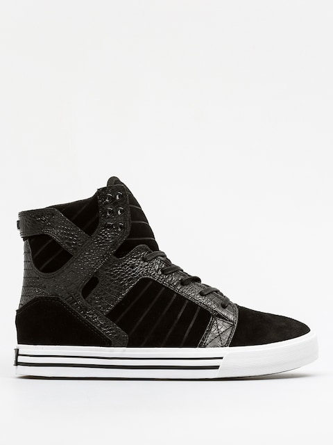 Supra Shoes Skytop (black/croc white)