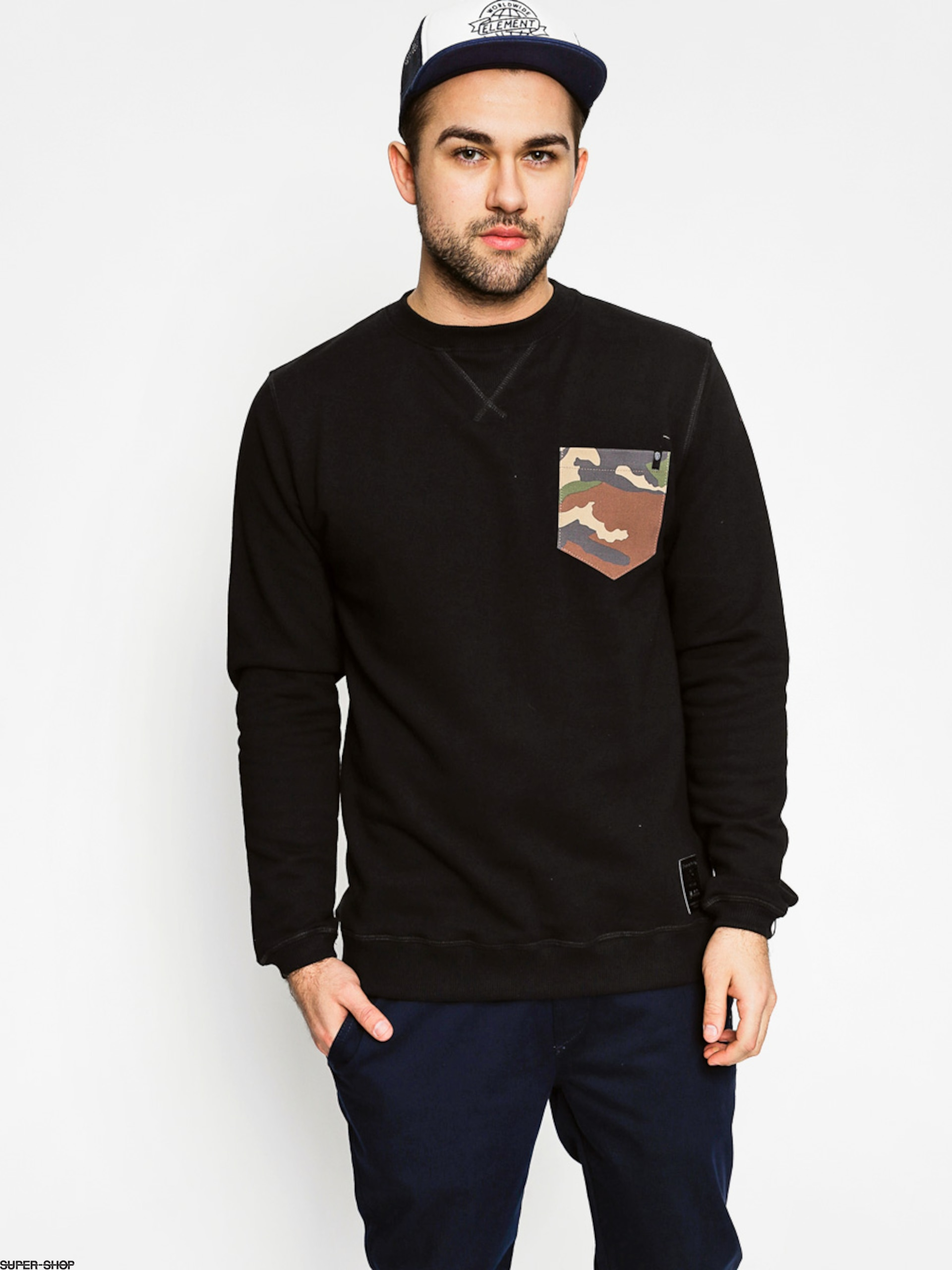Malita Sweatshirt Pocket (camo)