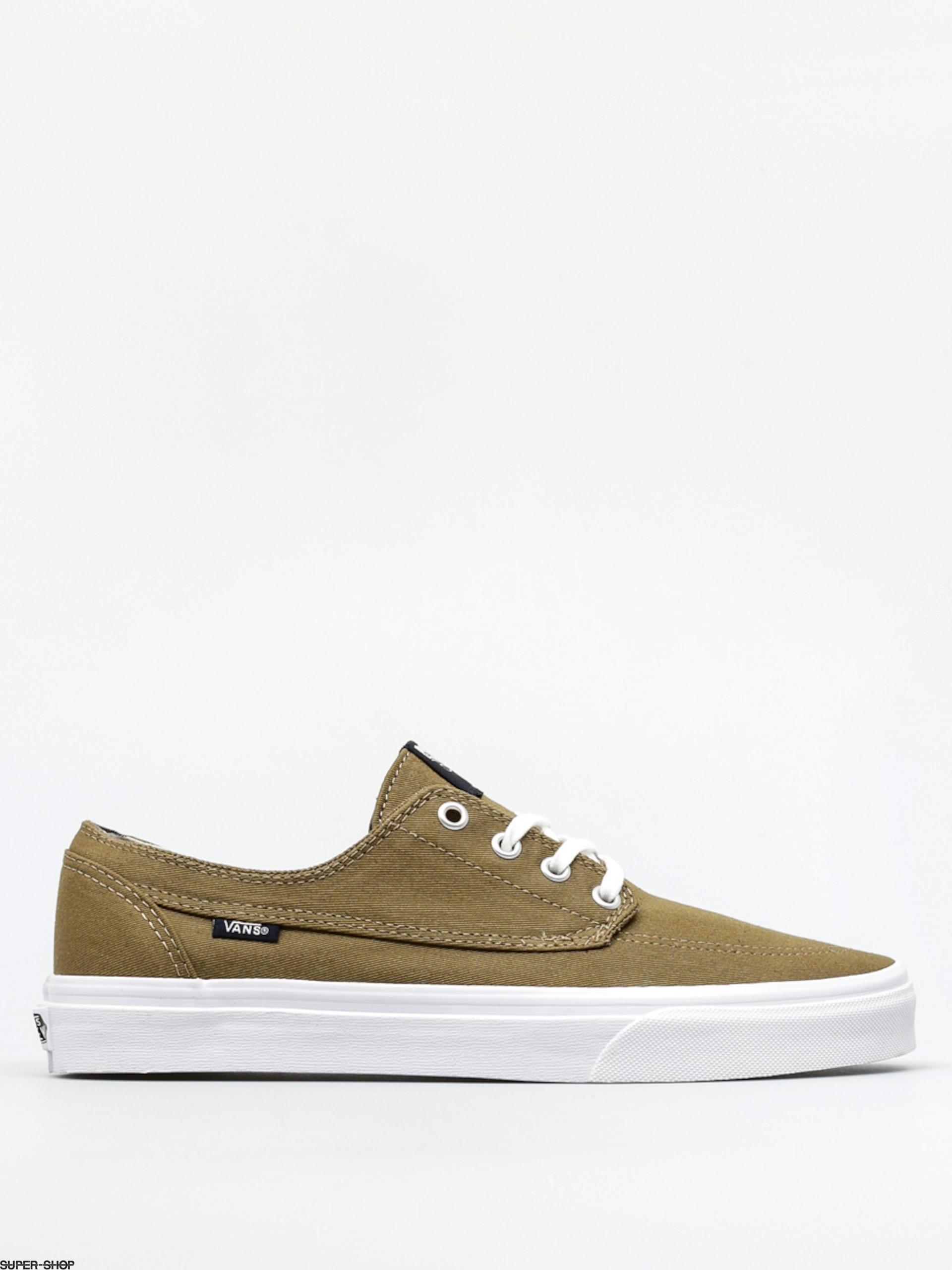 87eacb245a Vans Shoes Brigata (deck club covert green)