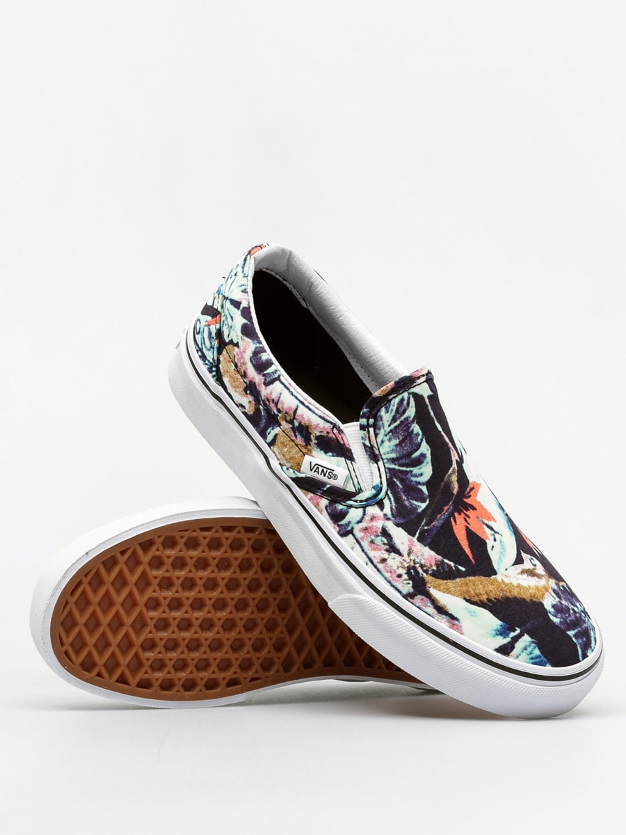 Vans Shoes Classic Slip On (tropical/multi/black)