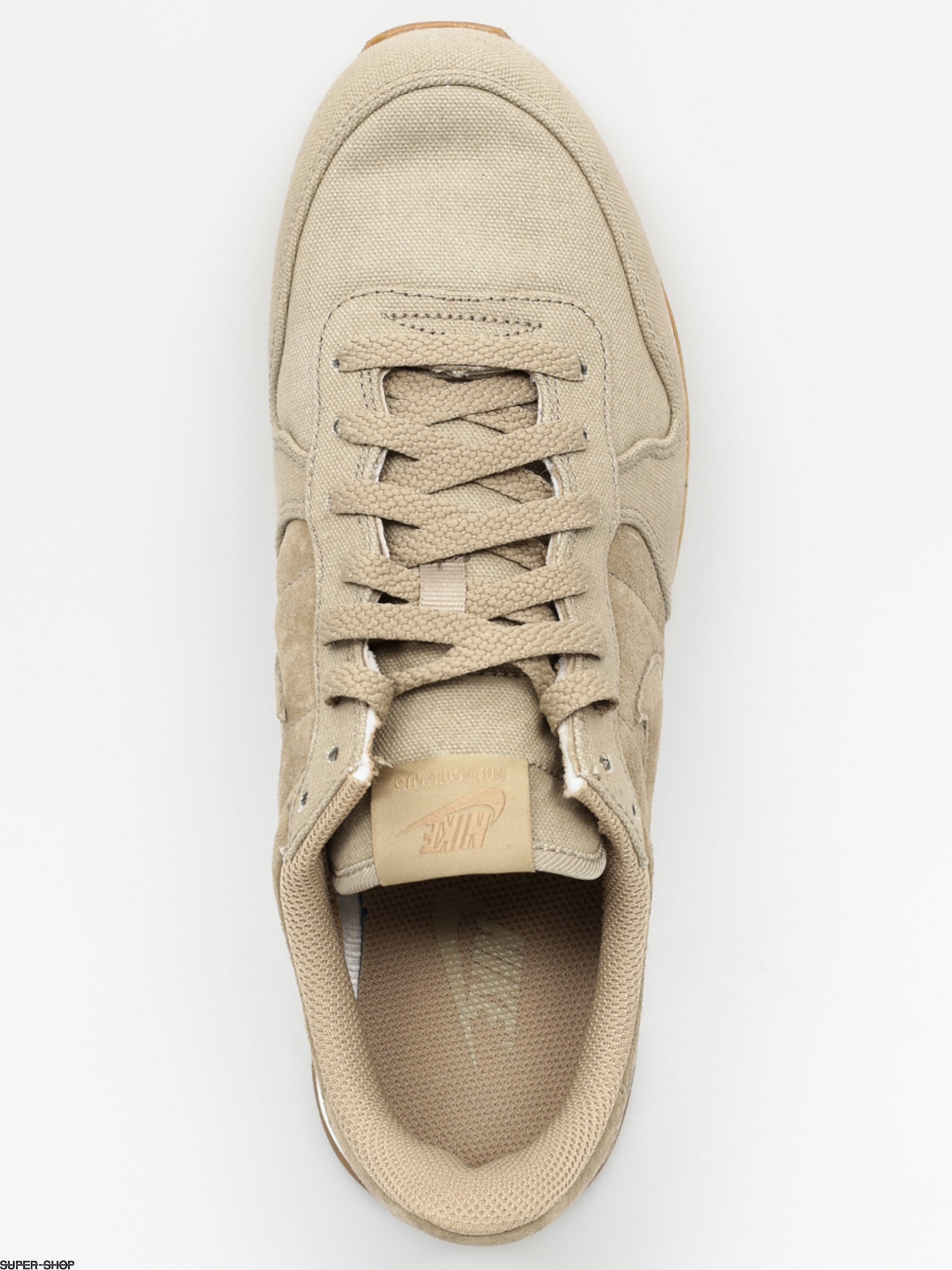 NIKE Inter nationalist Chaussures PRM, bamboo/bamboo/desert camo/sail