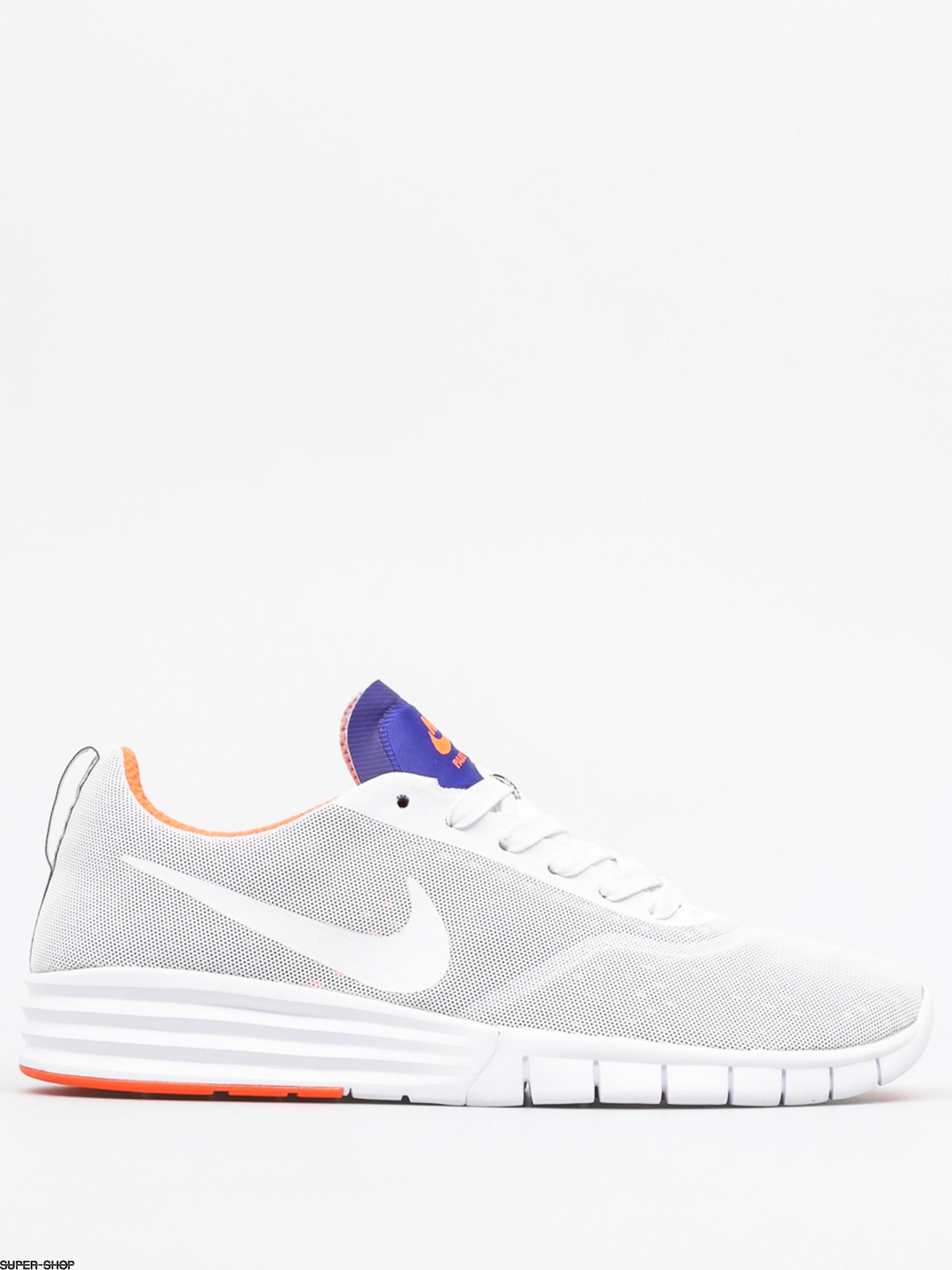 styl mody różne kolory Gdzie mogę kupić Nike SB Shoes Nike Sb Lunar Paul Rodriguez 9 (white/white rcr blue ttl  crmsn)
