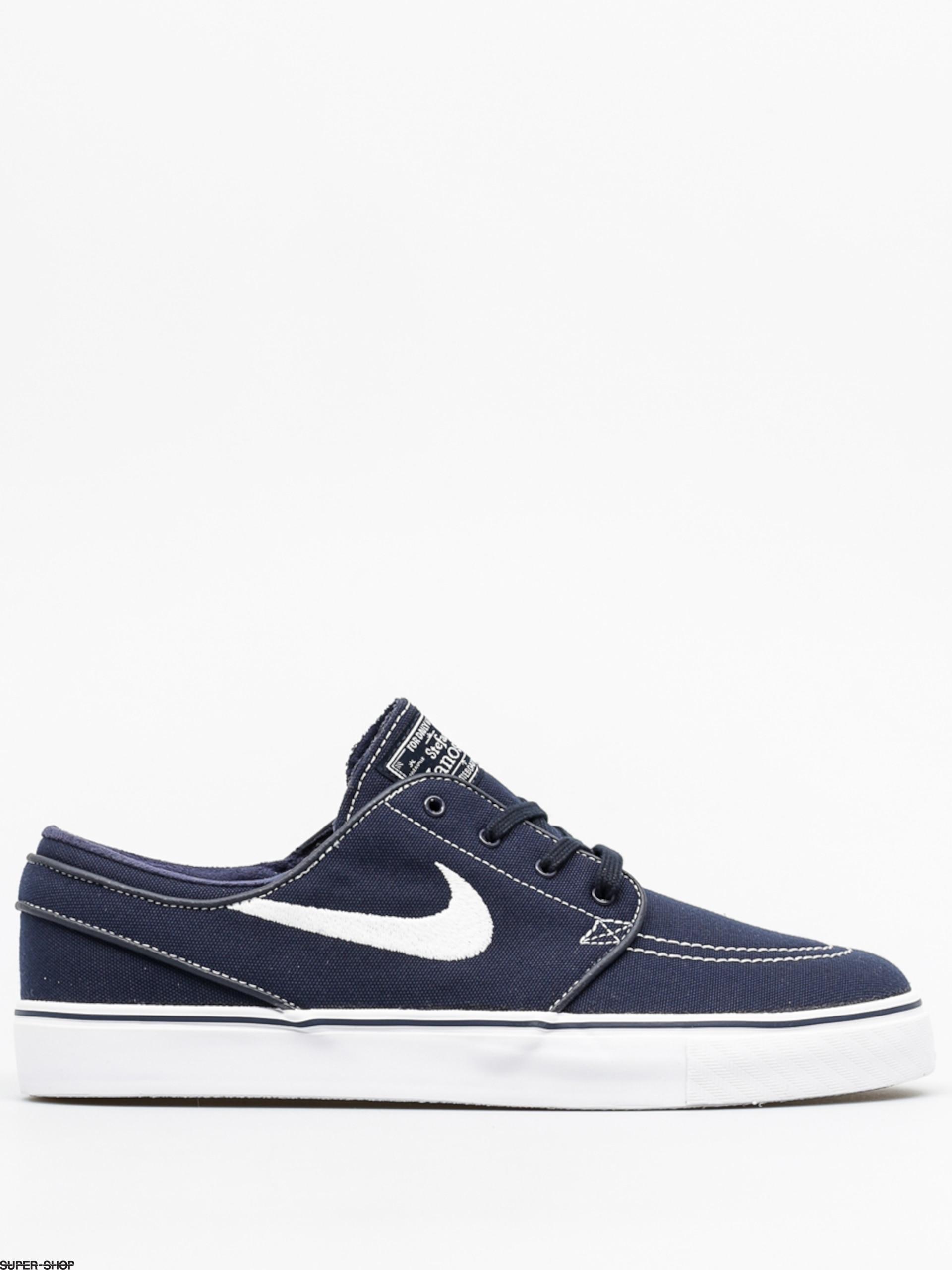 so cheap buy good size 7 Nike SB Schuhe Zoom Stefan Janoski Cnvs (obsidian/white gum light brown)