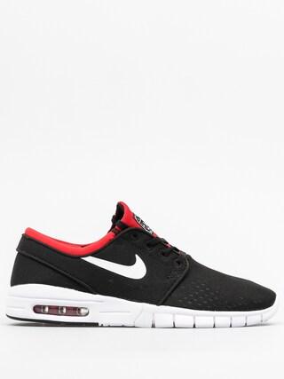 Nike SB Schuhe Stefan Janoski Max (black/white university red)