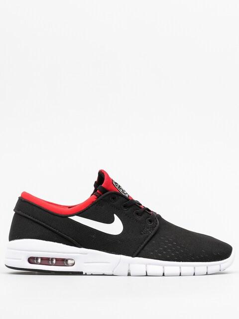 Nike SB Shoes Stefan Janoski Max (black/white university red)