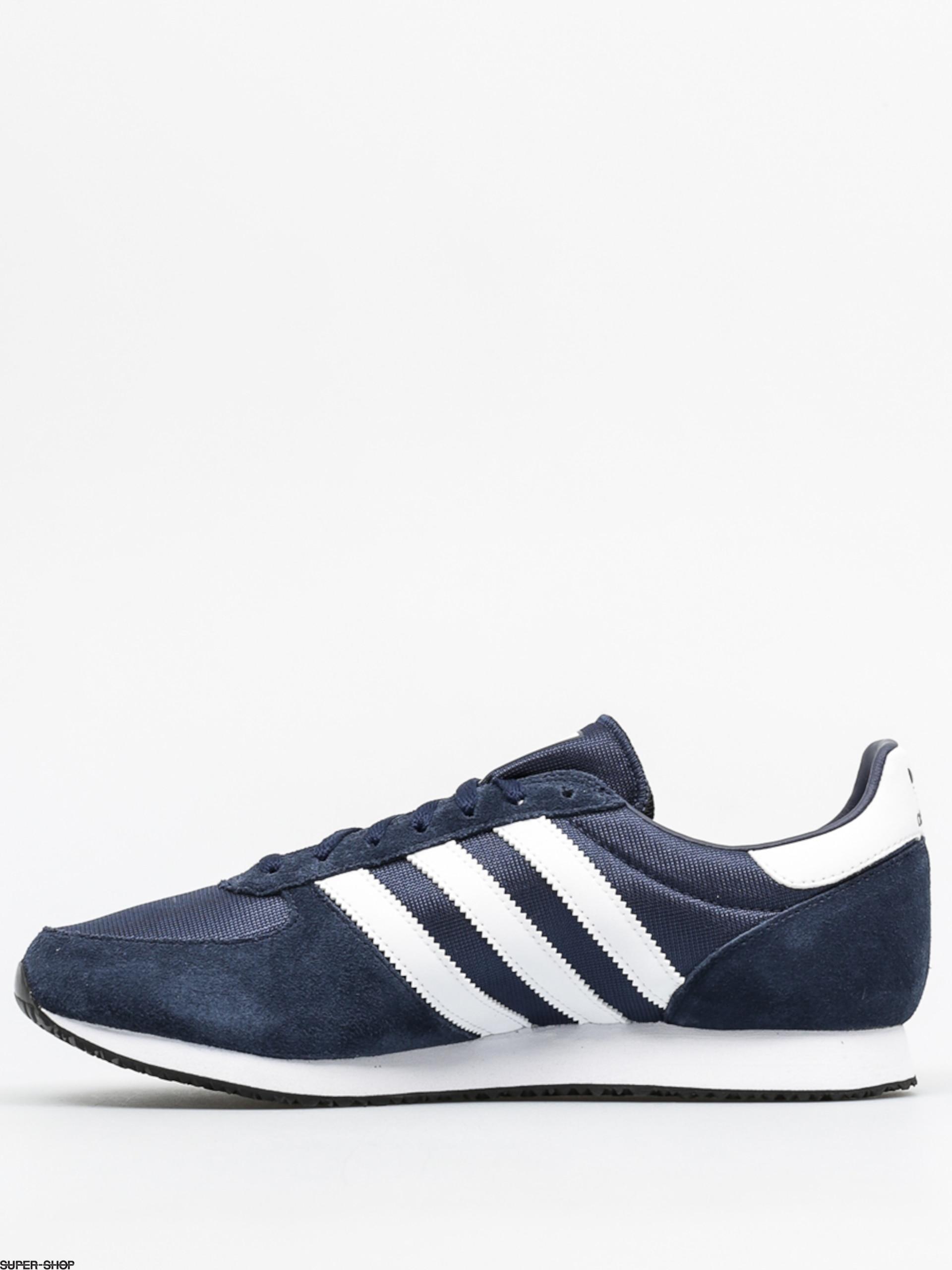 Adidas Shoes Zx Racer Conavy Ftwwht Cblack Blue Black