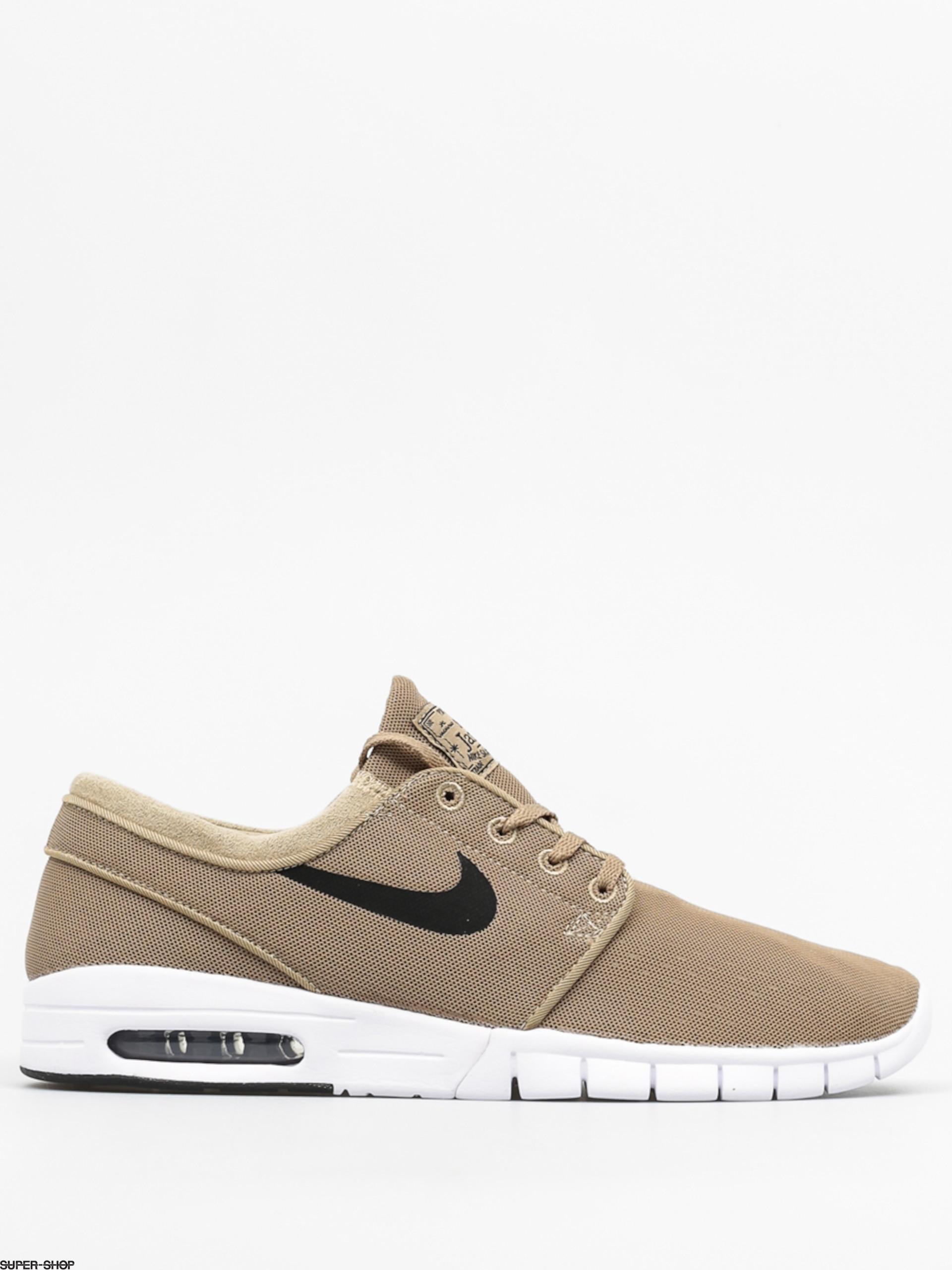 Nike SB Shoes Stefan Janoski Max (khaki black white) 046835071