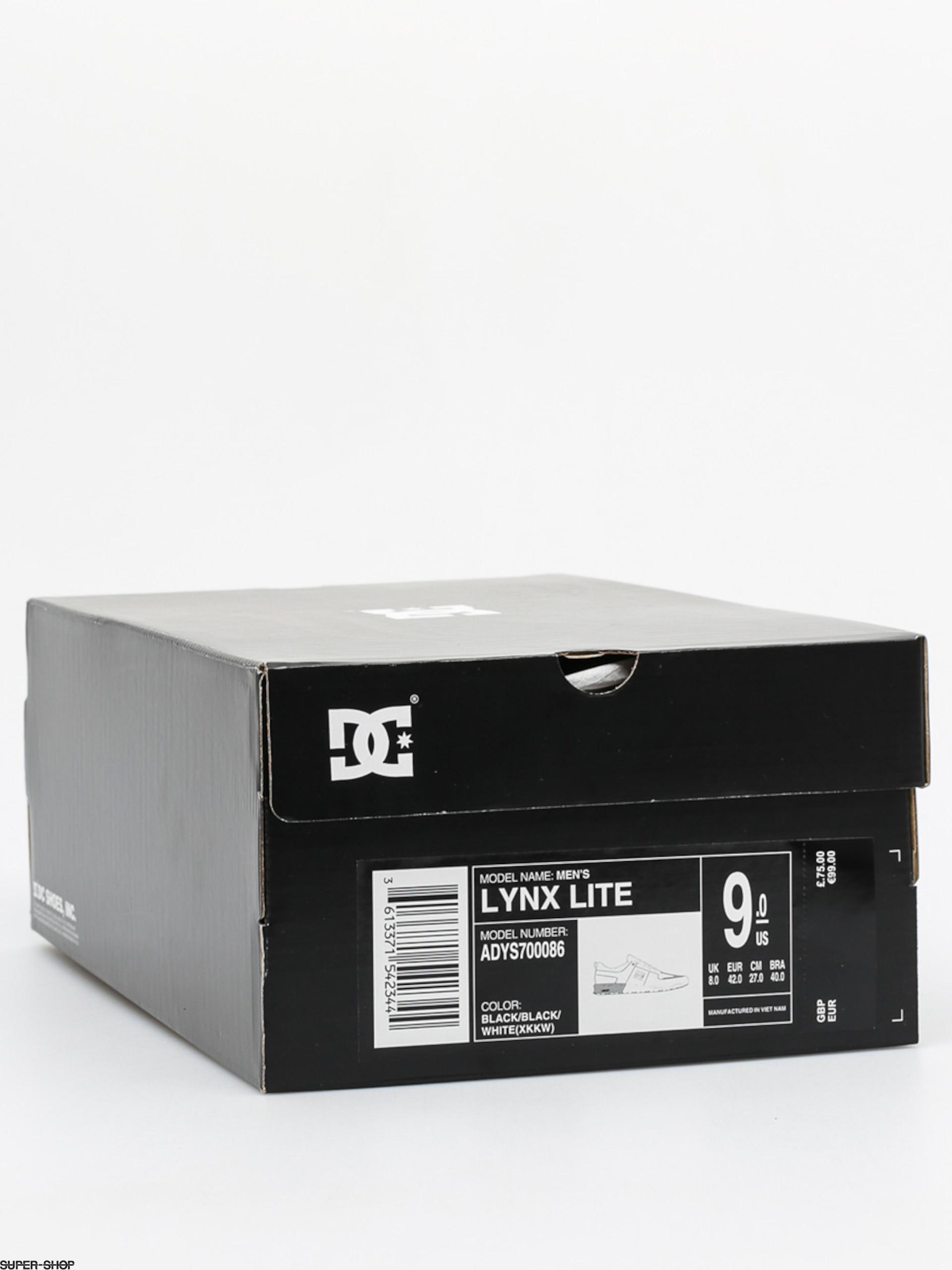 whi Lite black Skate Dc Lynx ShoeBlack 9EDH2I
