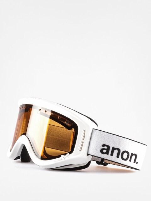 Anon goggles Dziecięce Tracker (white/amber)