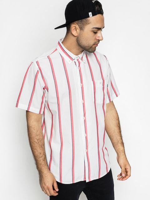 OBEY Shirt Waylon Woven Ls (white/multi)