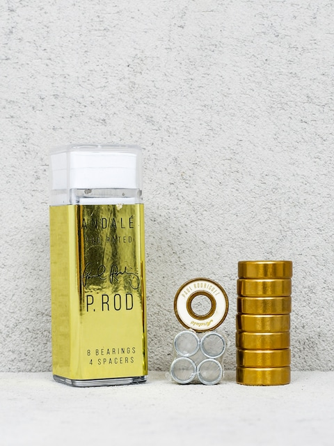 Andale Kugellager Paul Rodriguez Pen Box (gold/white)