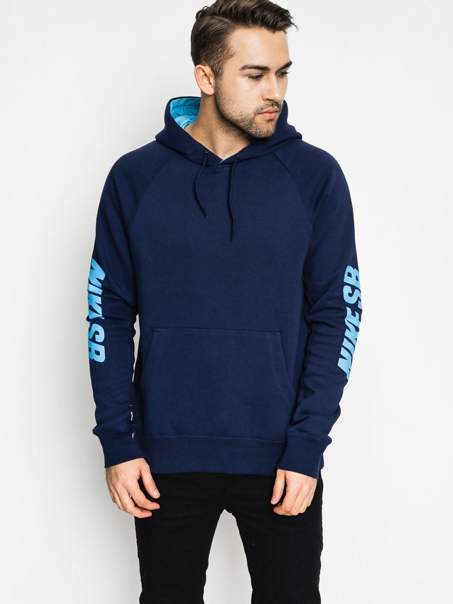 Nike SB Hoodie Icon Yard Dye HD (navy)