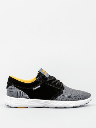 Supra Shoes Hammer Run (black/blue print white)