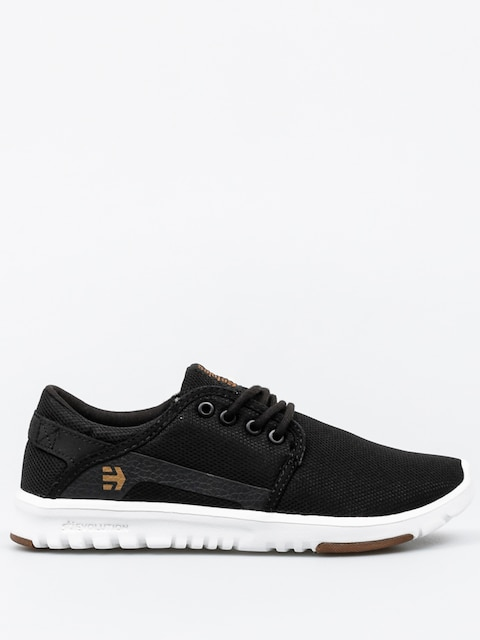 Etnies Shoes Scout Wmn (black/white/gum)