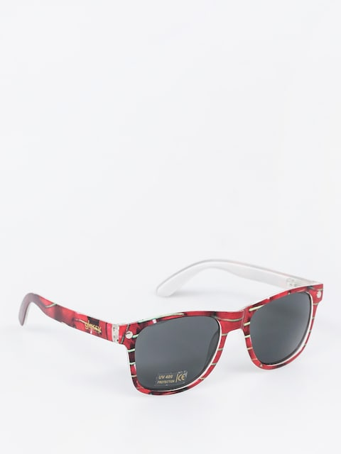 Glassy Sunglasses Leonard (cherry)