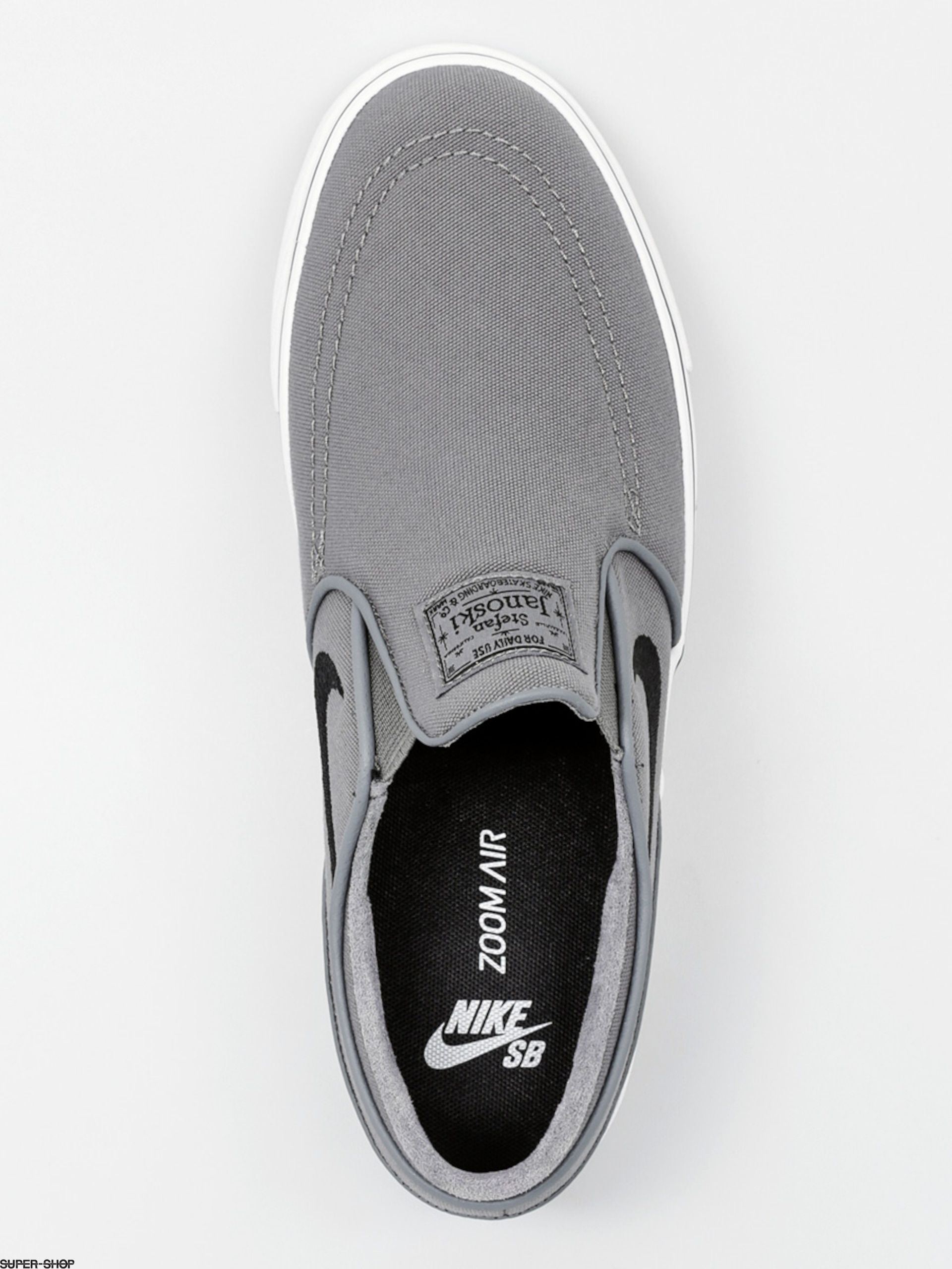 e3378e1c475b Nike SB Shoes Zoom Stefan Janoski Slip Cnvs (cool grey black white)