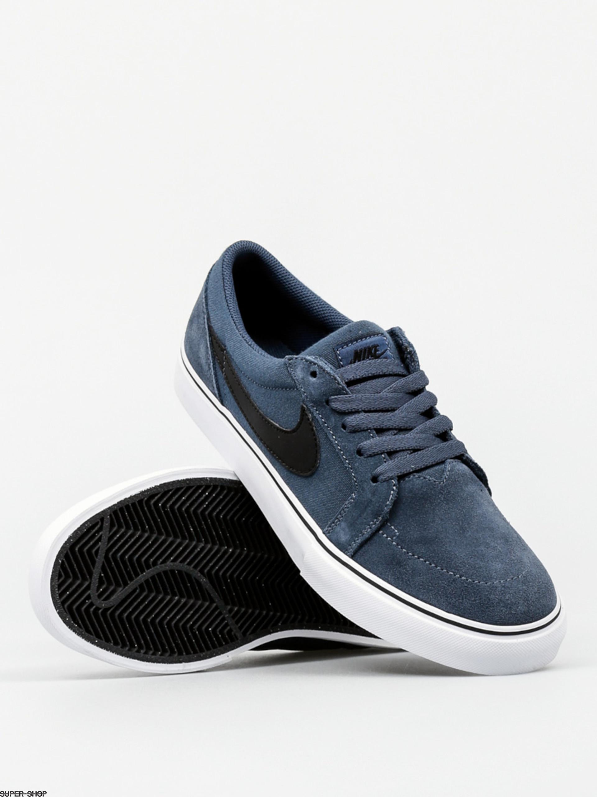 Nike Sb Shoes Sb Satire Ii Squadron Blue Black White