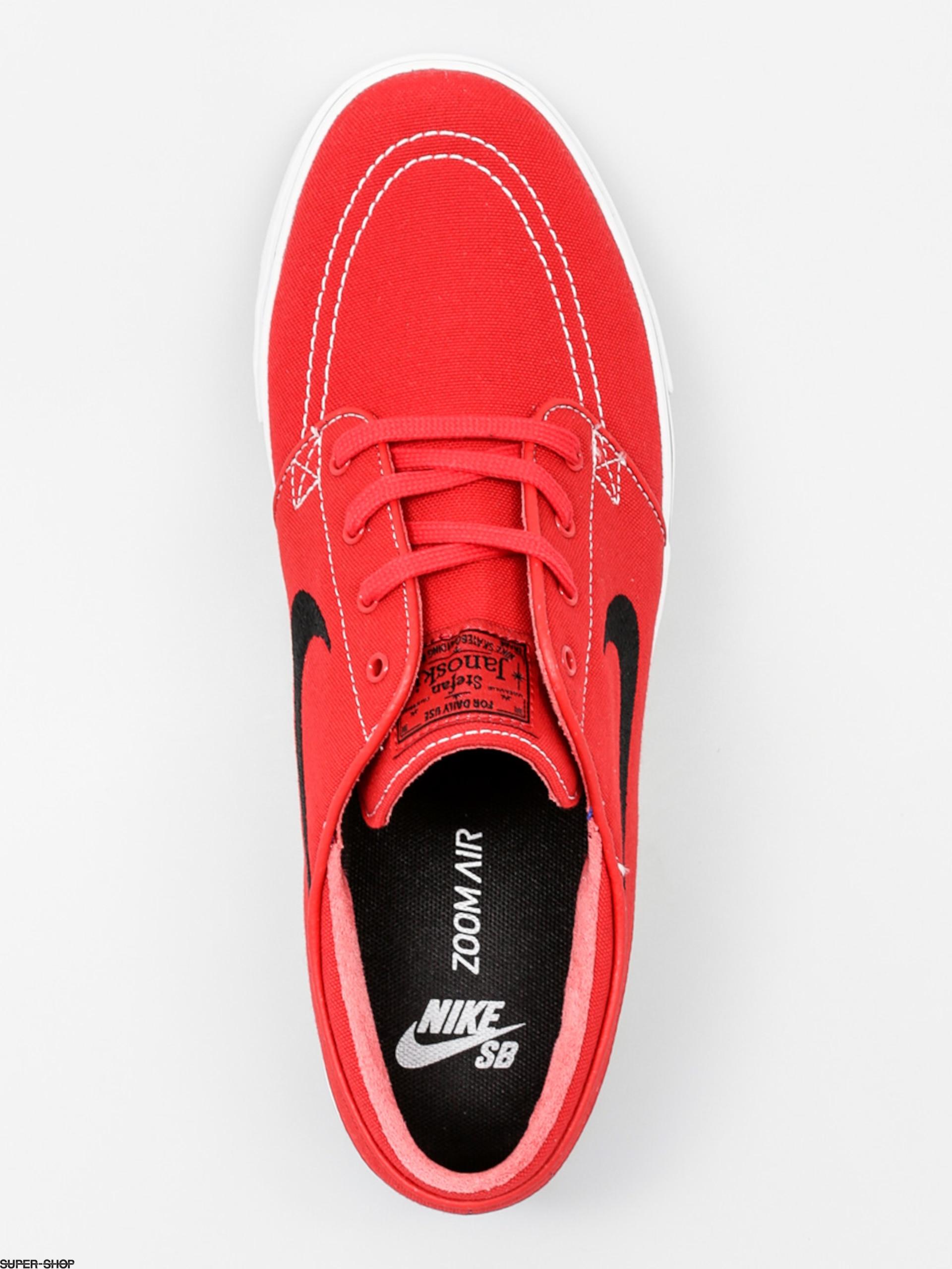 low priced aace5 d058c Nike SB Shoes Zoom Stefan Janoski Cnvs (unvrsty rd blk gm lght brwn wh)