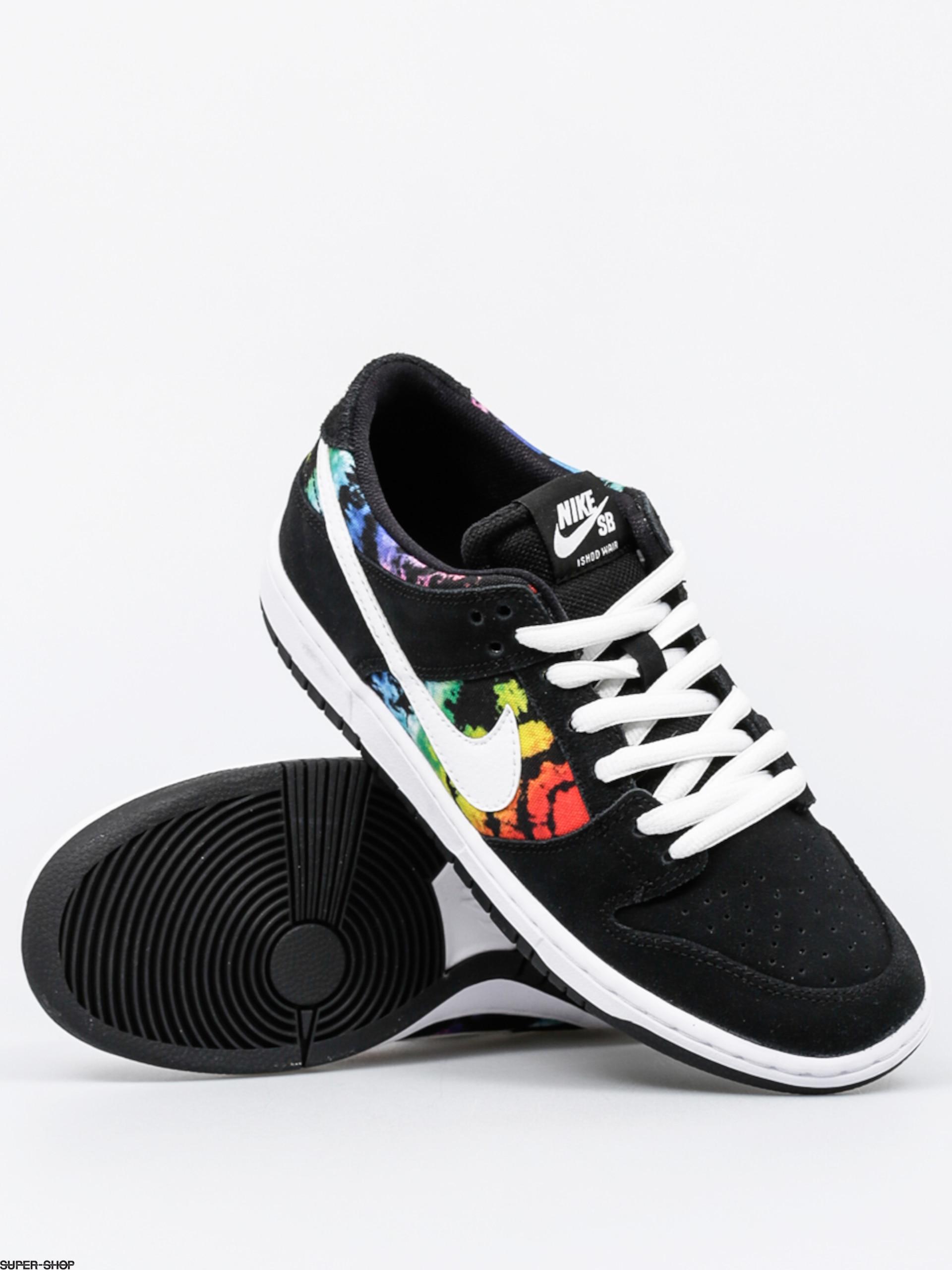 best authentic 80ddf 1fb1b Nike SB Shoes Dunk Low Pro Iw (black white multi color)