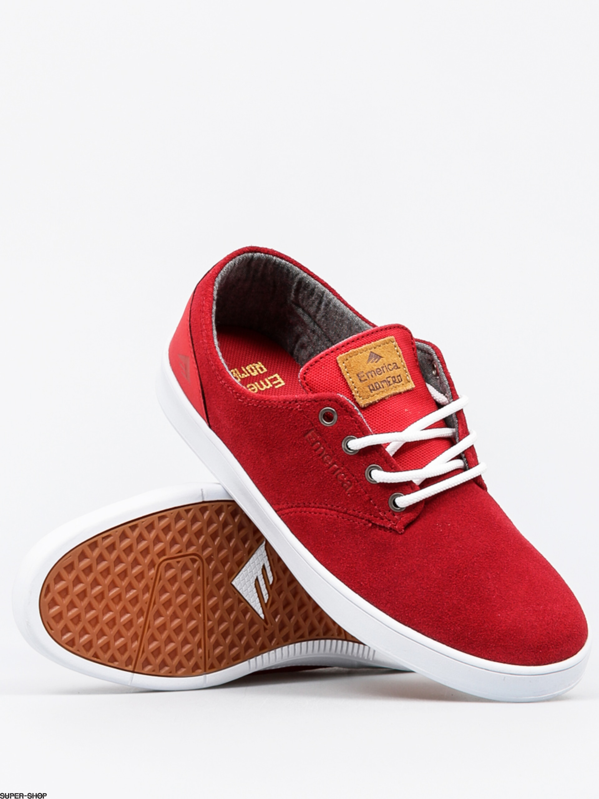 Emerica Shoes The Romero Laced (red)