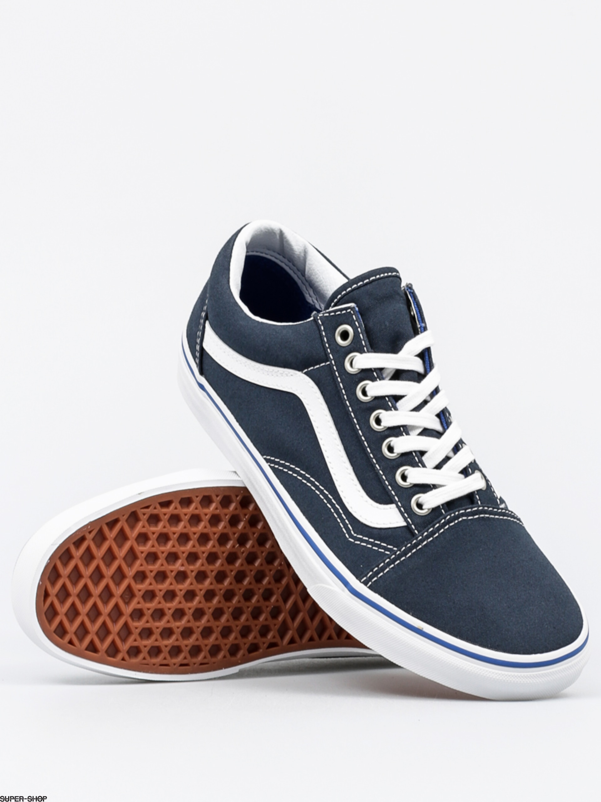vans shoes old skool midnight navy true white. Black Bedroom Furniture Sets. Home Design Ideas