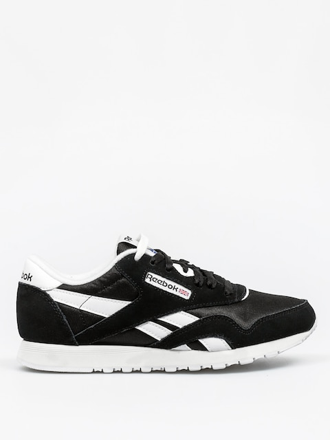 Reebok Schuhe Cl Nylon Wmn (black/white)