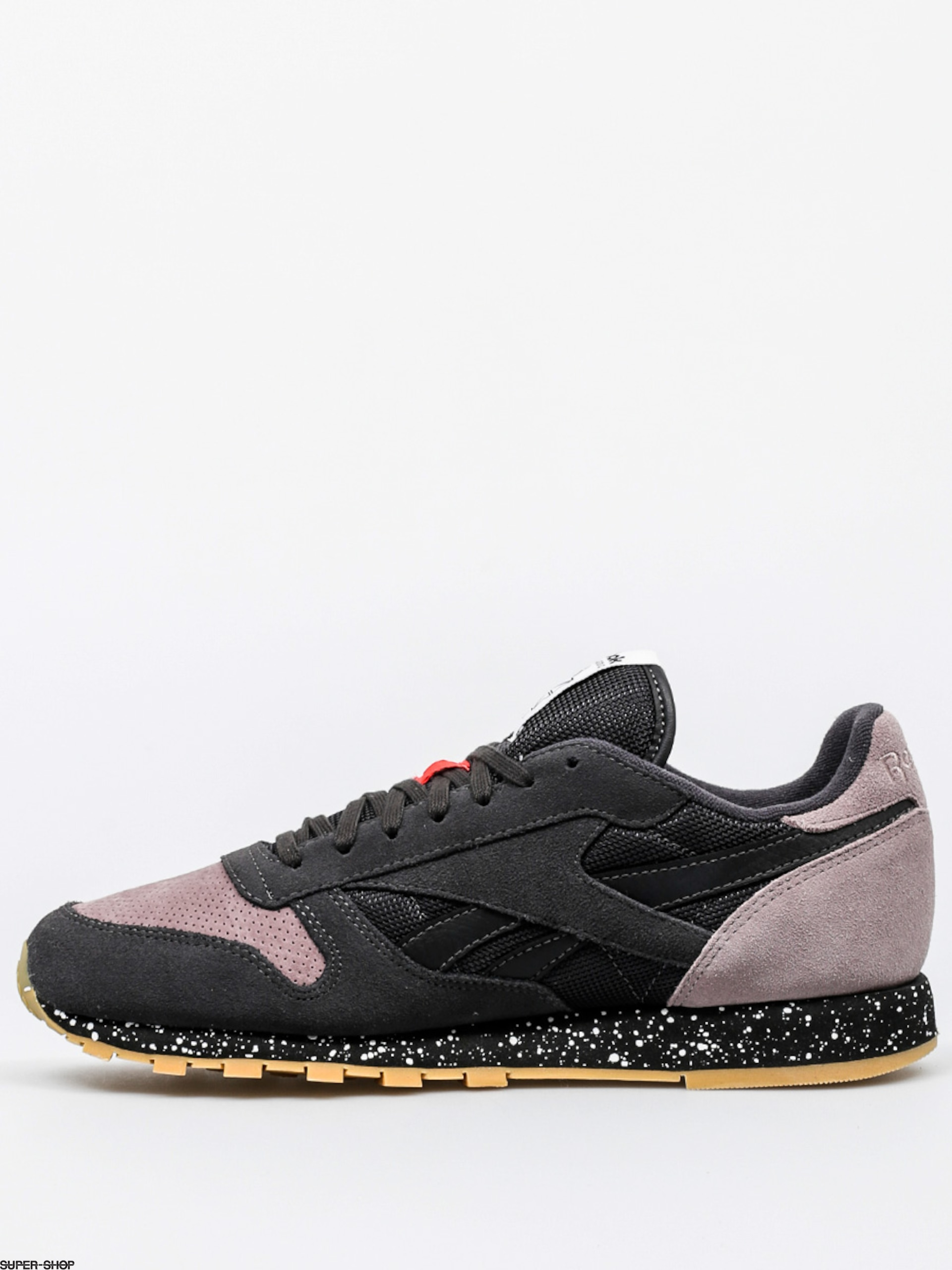 Reebok Shoes Classic Leather Sm (coal