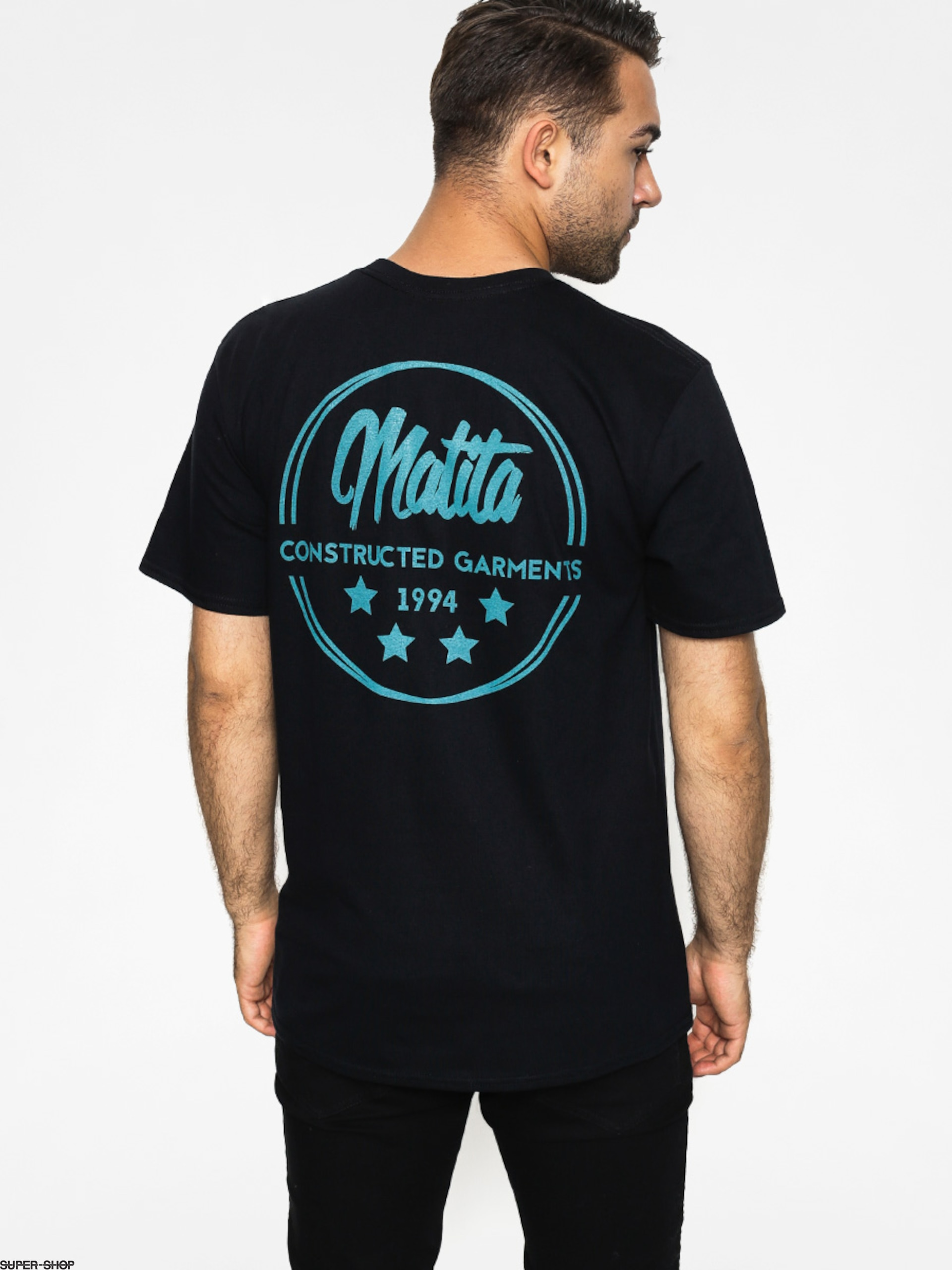 Malita T-shirt Star (black/turquoise)