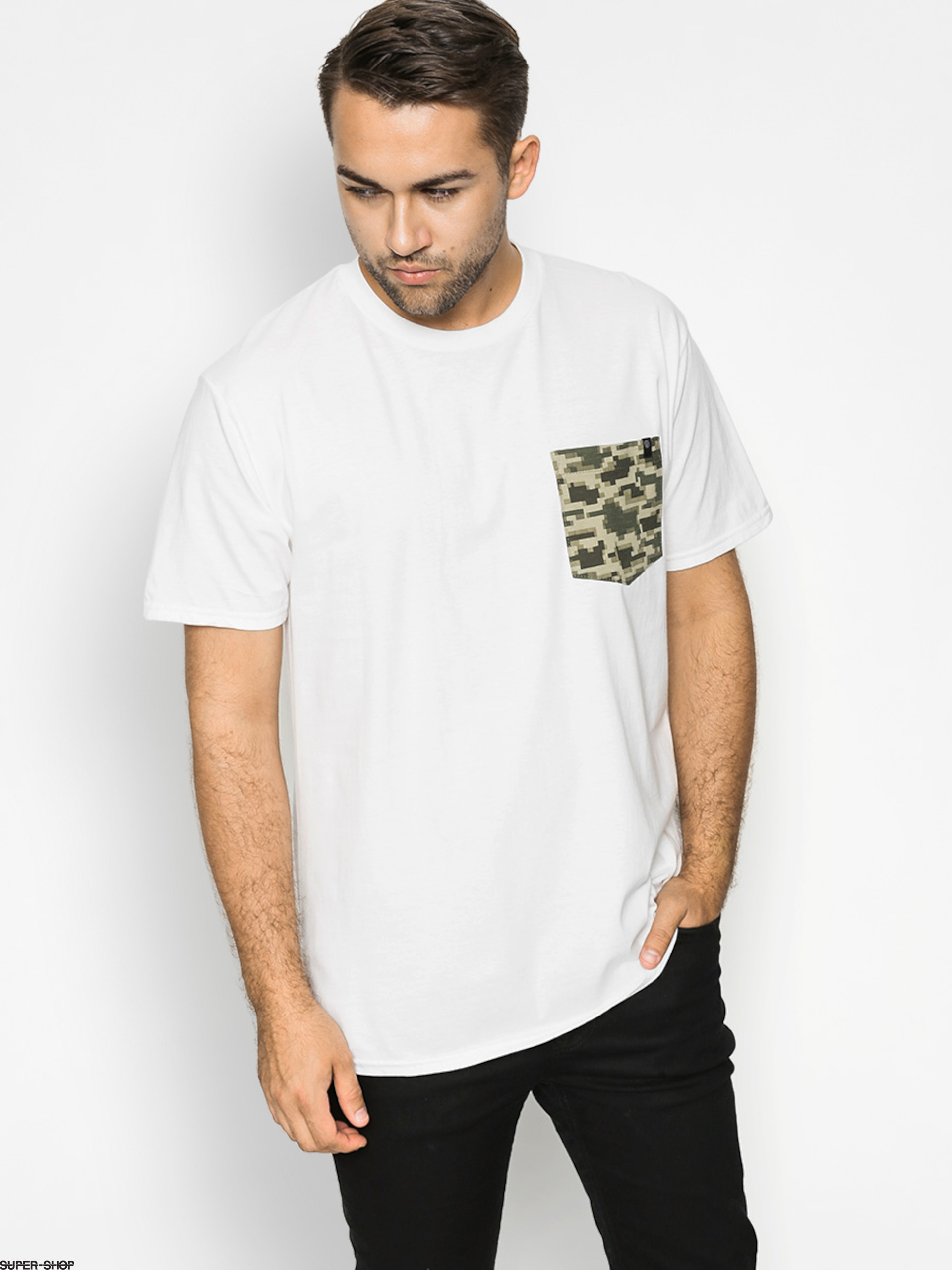 Malita T-shirt Kamo Pocket (white)