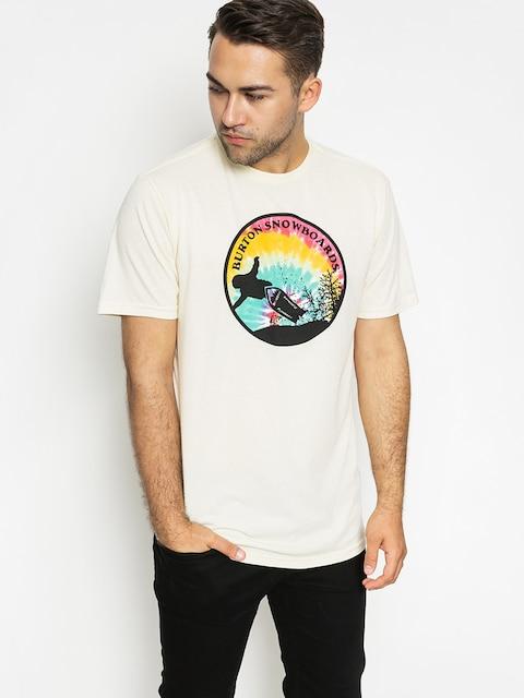 Burton T-shirt Throwbck Rpet (canvas heather)