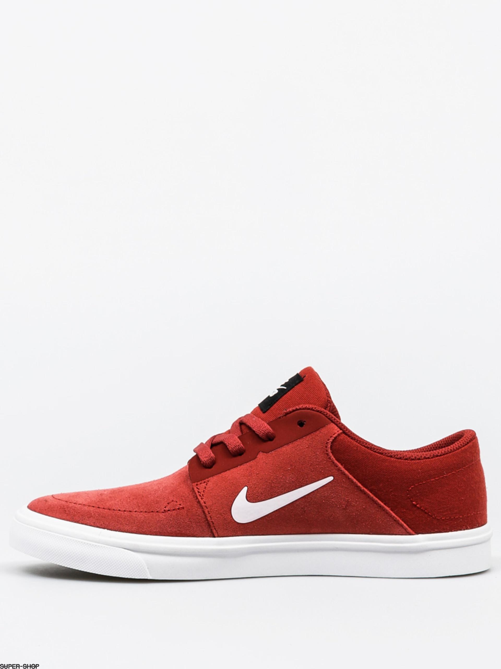 5b45ab109d92 Nike SB Kids shoes Portmore (dark cayenne white black)