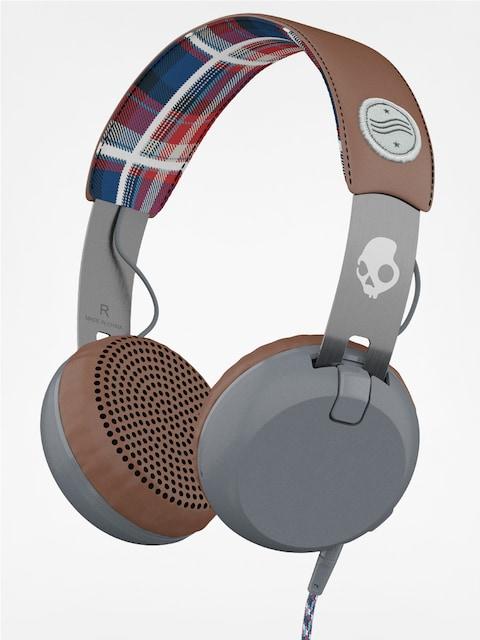 Skullcandy Headphones Grind (americana/plaid/gray)