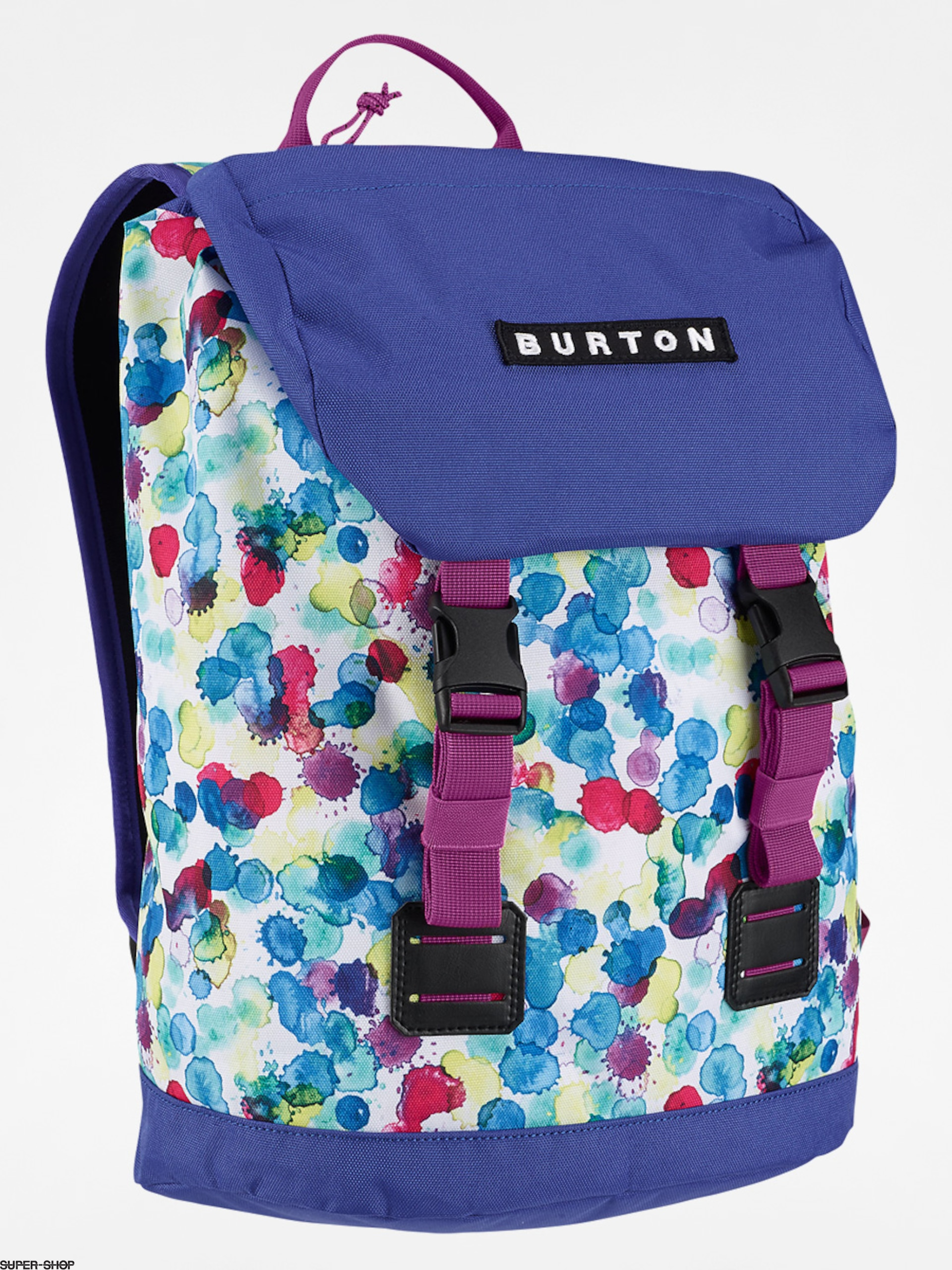 Burton Backpack Kids Tinder (rainbow drops print)