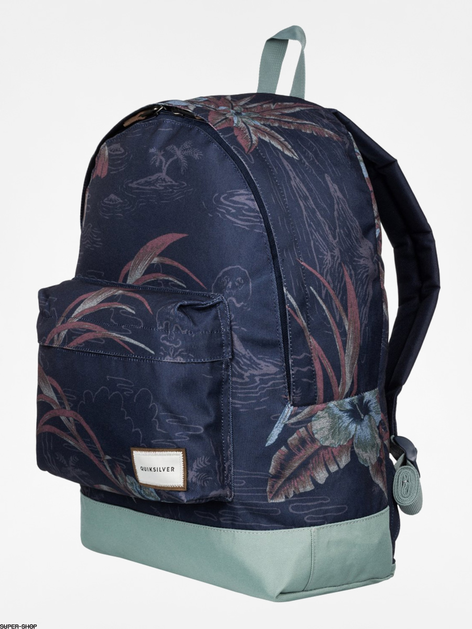 Quiksilver Backpack Everyday Poster (navy/mint)