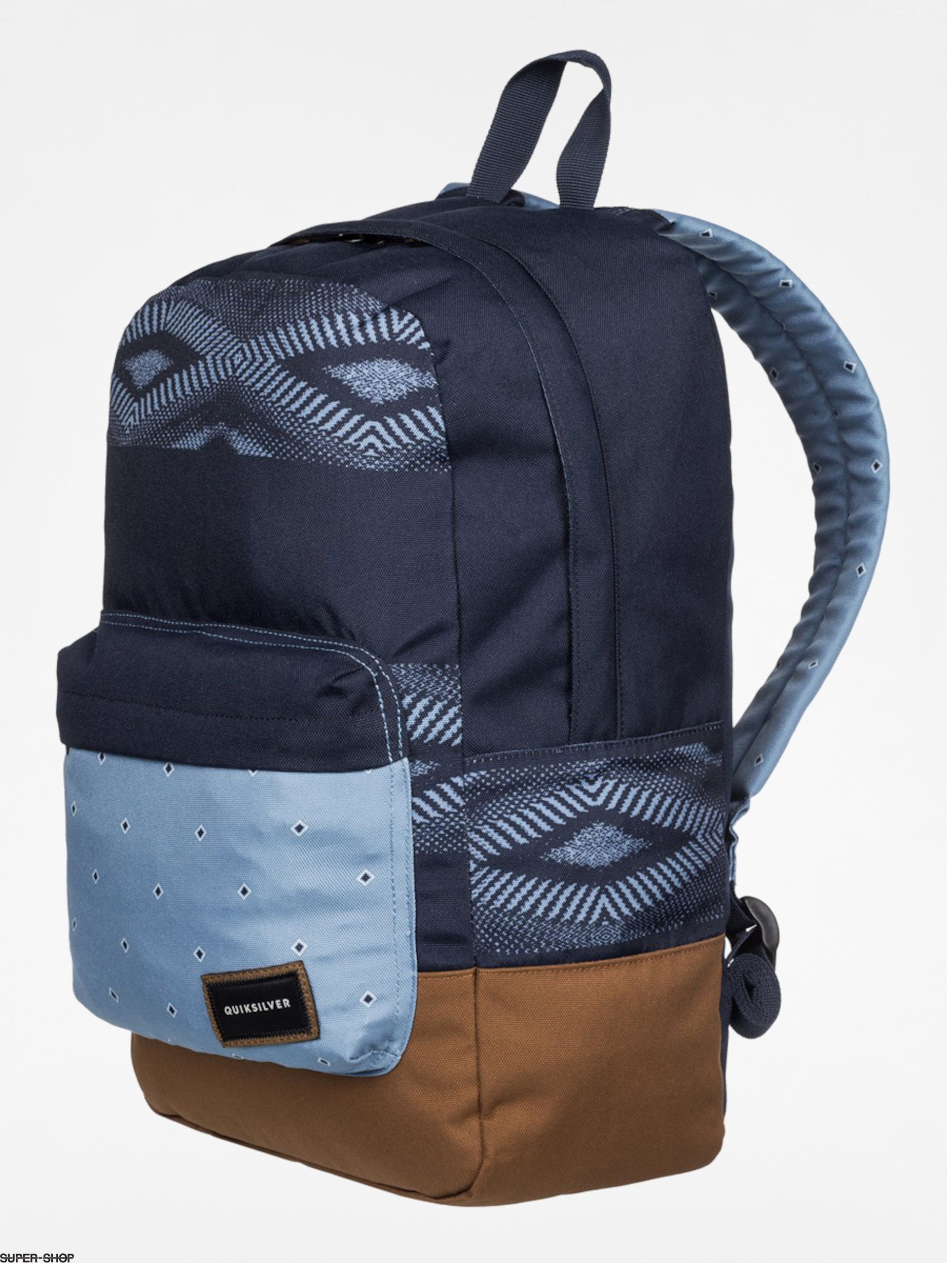 Quiksilver Backpack Night Track (navy/blue/brown)