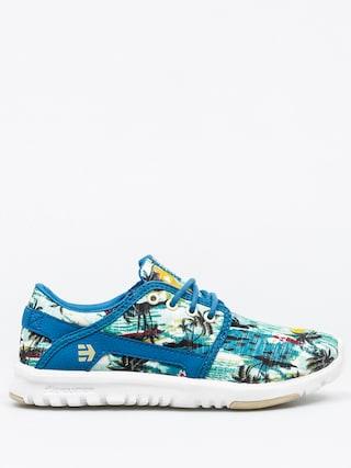 Etnies Shoes Scout Wmn (green/blue)