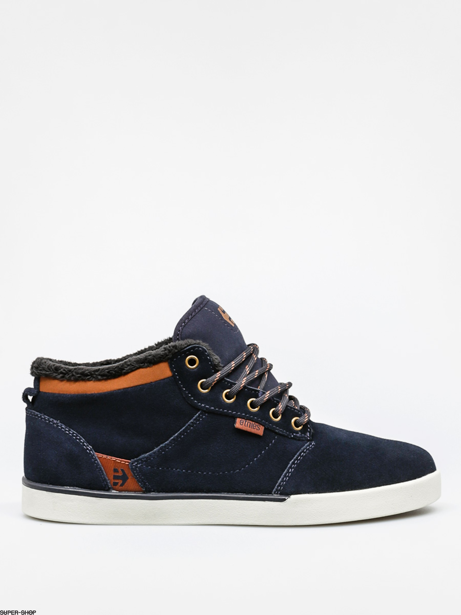 Etnies Schuhe Jefferson Mid (navy/brown/white)