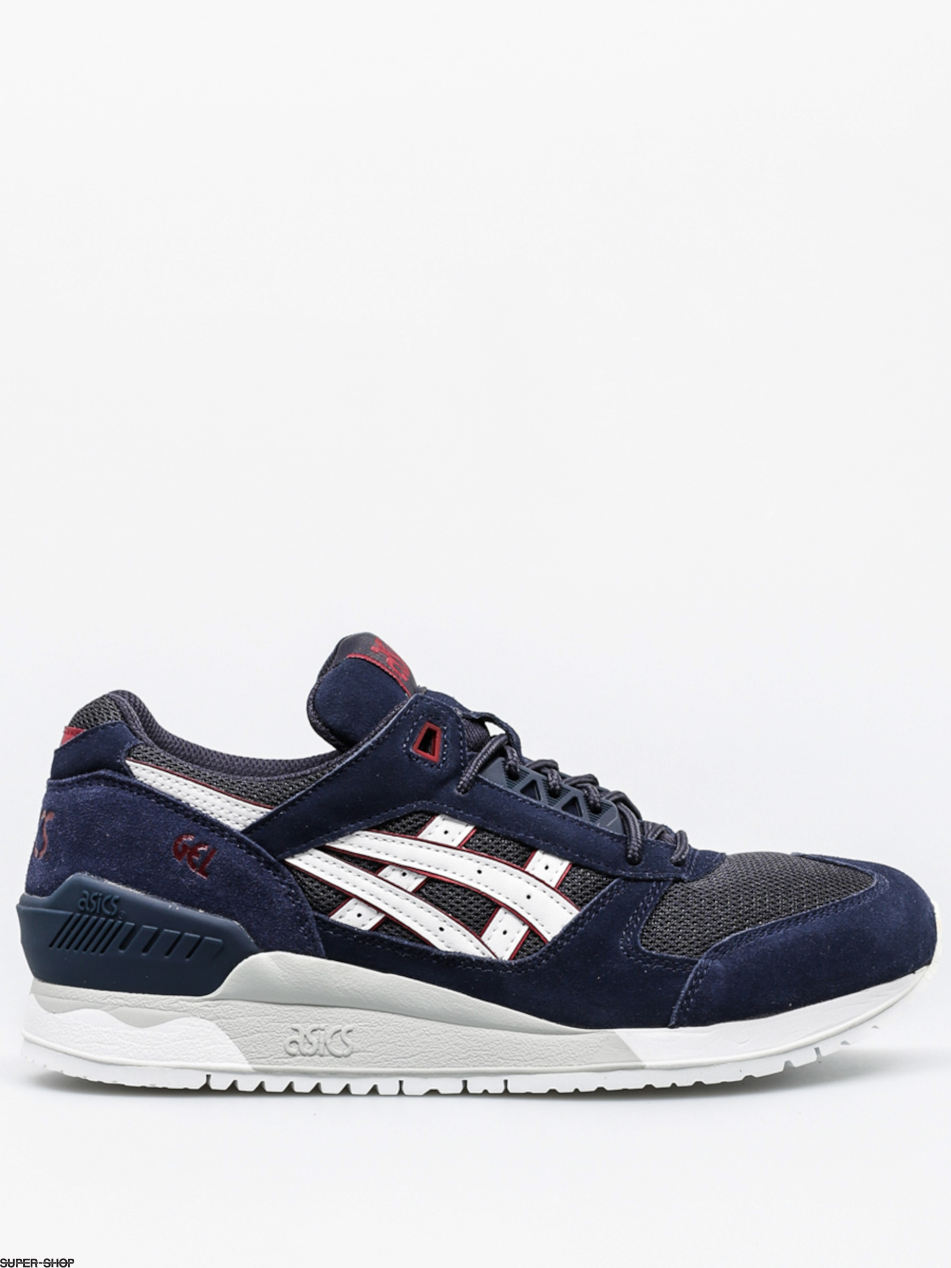 asics shoes gel respector india ink white. Black Bedroom Furniture Sets. Home Design Ideas