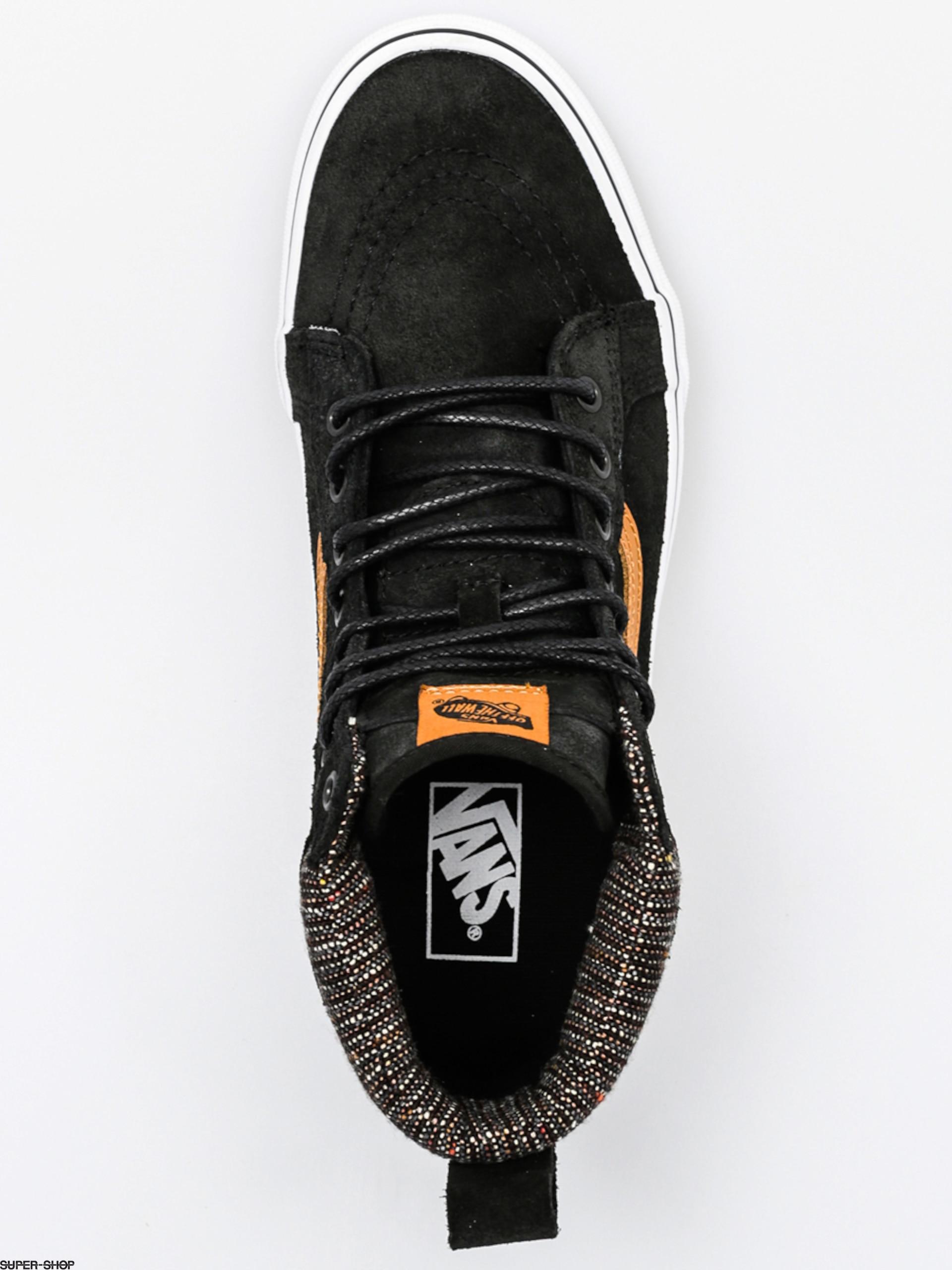 Vans Shoes Sk8 Hi Mte (mte black tweed) df9d4c8bf44