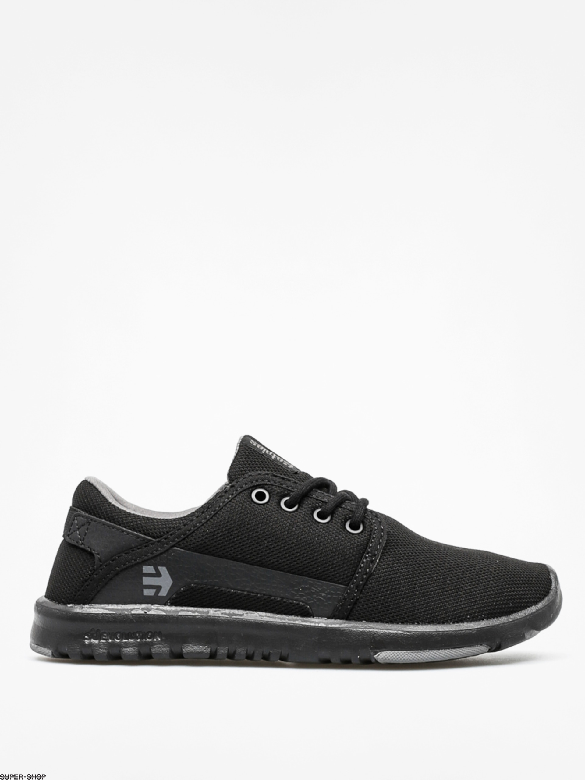 Etnies Shoes Scout Wmn (black/black/grey)