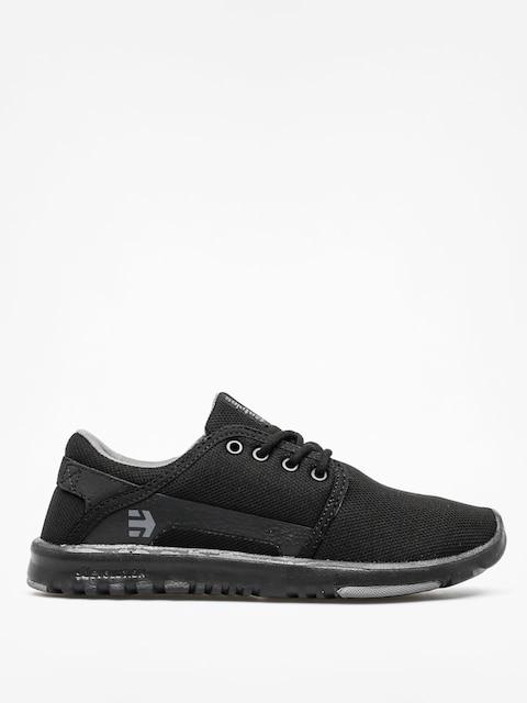 Etnies Schuhe Scout Wmn (black/black/grey)