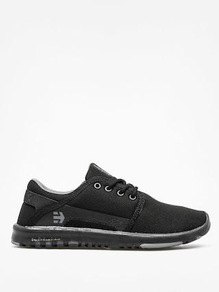 Etnies Shoes Scout Wmn (black/black/grey)