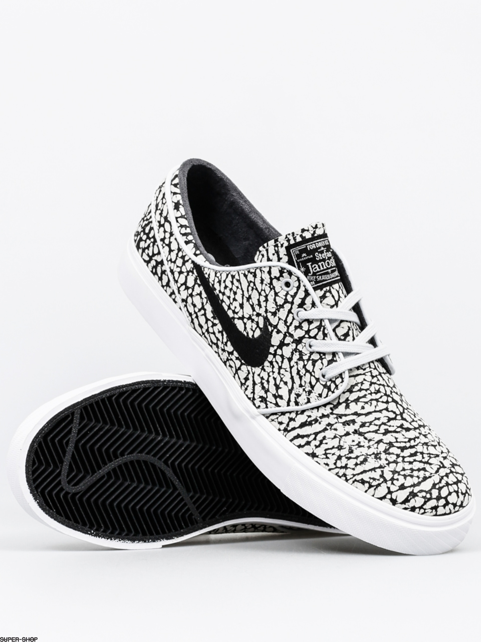 827eaec6395 Nike SB Shoes Zoom Stefan Janoski Elite (pure platinum black white)
