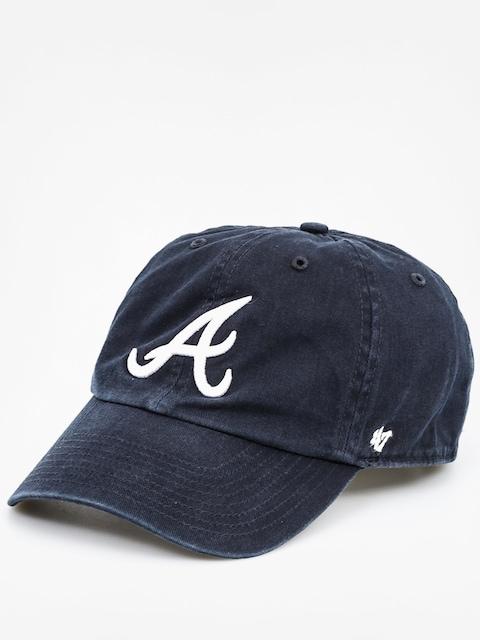 47 Brand Cap Atlanta Braves ZD (washed black)