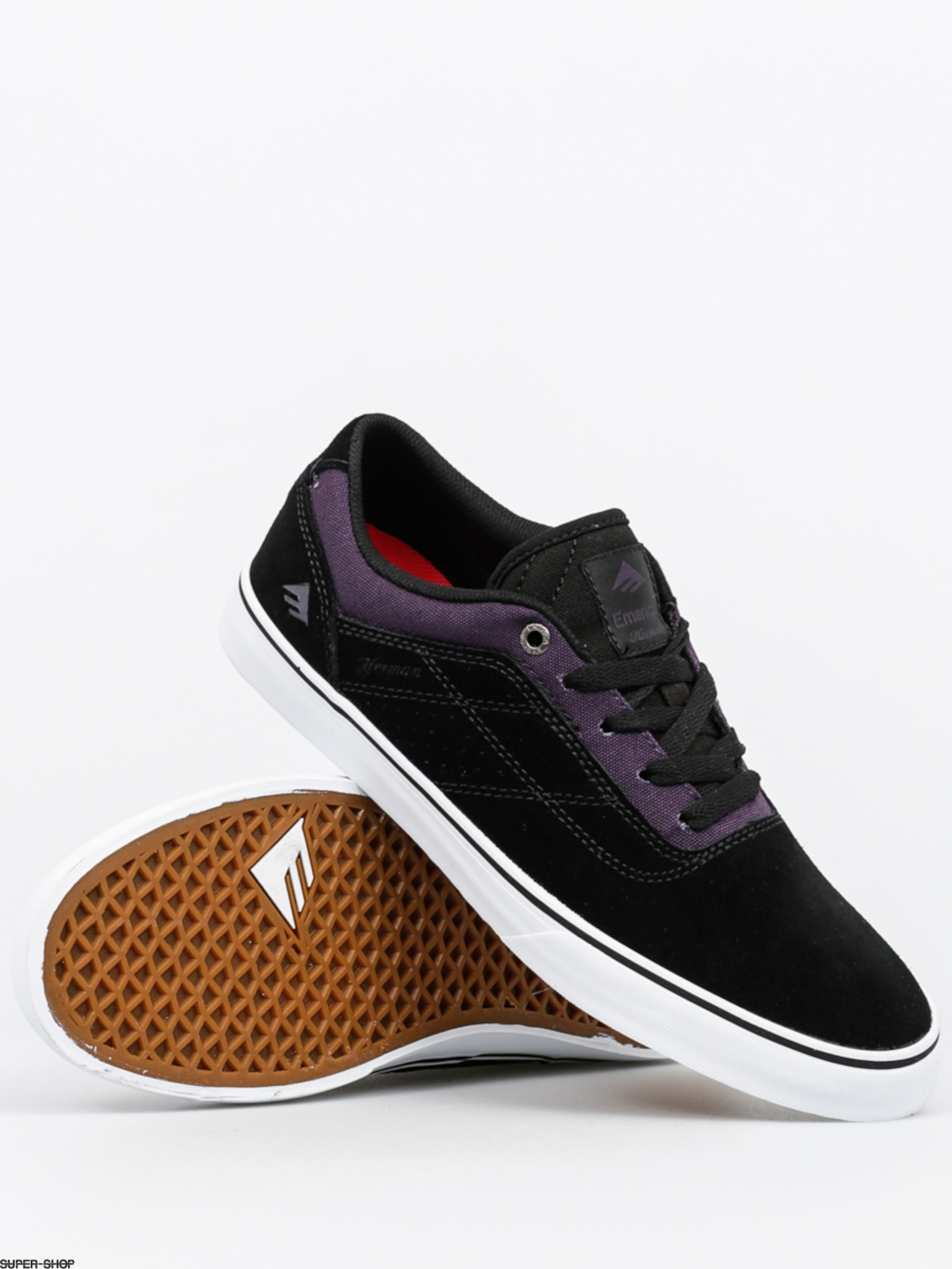 Emerica Shoes The Herman G6 Vulc (black