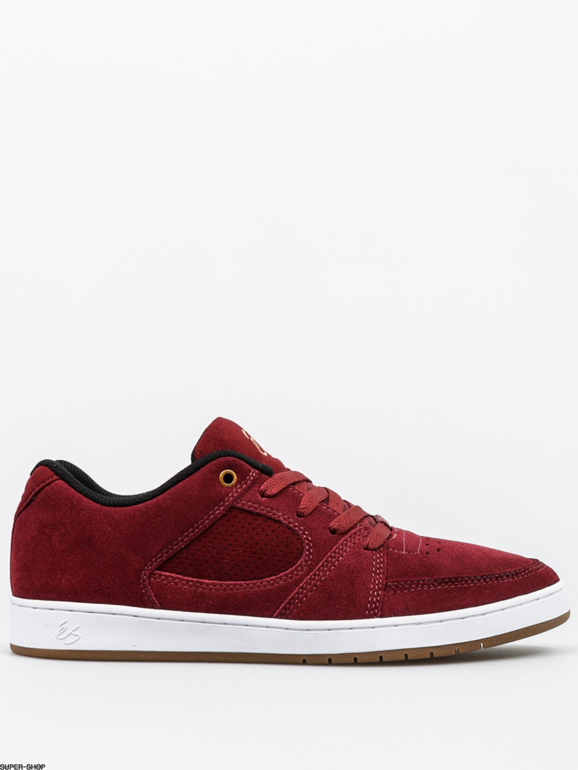 Es Shoes Accel Slim (burgundy)