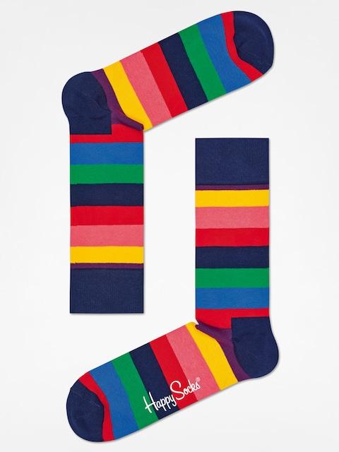 Happy Socks Socks Stripe (navy/multi)