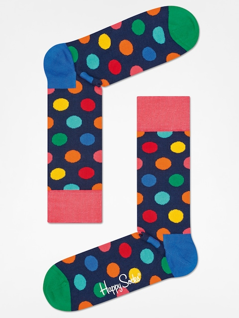 Happy Socks Socks Big Dot (navy/multi)