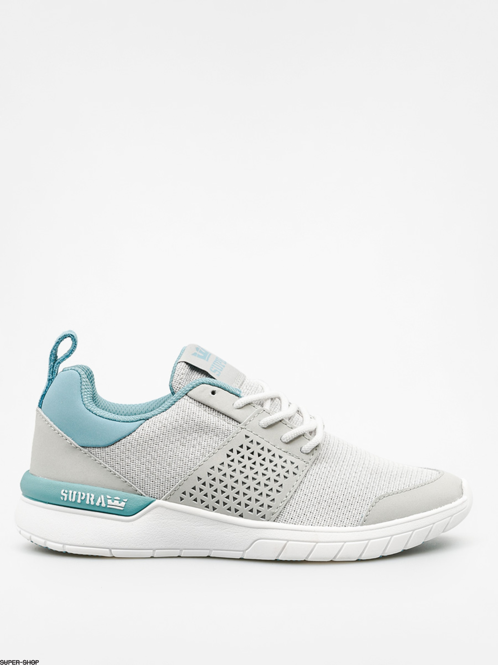 Supra Schuhe Scissor Wmn (light grey/aqua white)
